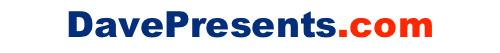 DavePresents Logo